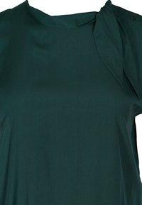 Zizzi - MIT BINDEDETAIL - Blouse - dark green - 2