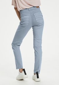 Cream - Slim fit jeans - dusty blue - 2