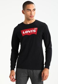 Levi's® - GRAPHIC - Long sleeved top - better black - 0