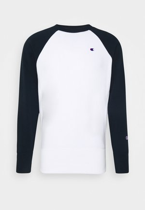 CREWNECK - Sweatshirt - white/navy