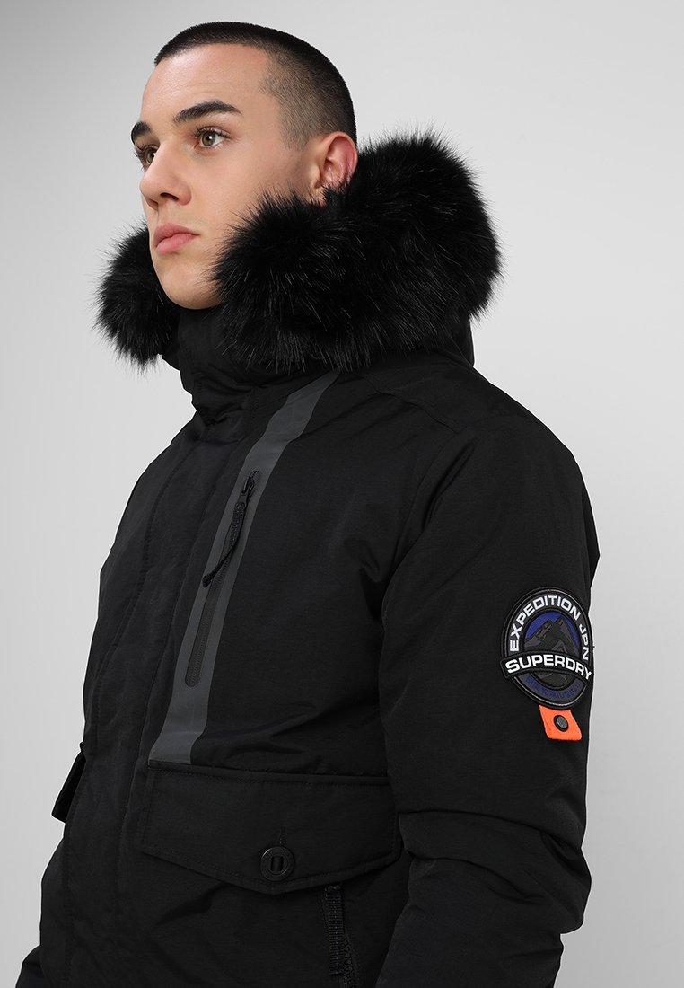Discount Buy Men's Clothing Superdry EVEREST  Winter jacket black yMdTHQfkW iGfDkvY2I