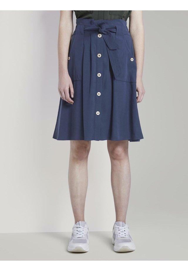 MIT TASCHEN - Spódnica trapezowa - sky captain blue