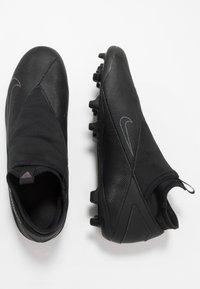 Nike Performance - PHANTOM VISION 2 CLUB DF FG/MG - Moulded stud football boots - black - 1