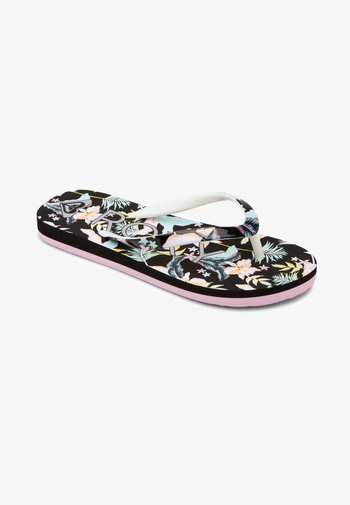 PEBBLES  - T-bar sandals - anthracite