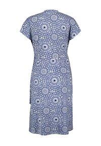 Gerry Weber - Day dress - blau/ecru/weiss druck - 1