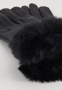 Dorothy Perkins - TRIM GLOVE - Gants - black - 3