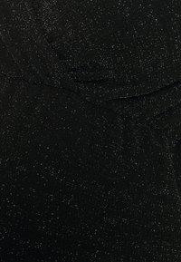 MAMALICIOUS - MLJENNI TESS DRESS  - Vestido ligero - black/silver glitter - 2