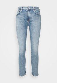PRECIPICE TONI MID RISE - Slim fit jeans - precipice light indigo