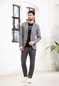 TOM TAILOR - DOBBY - Suit jacket - grey - 5