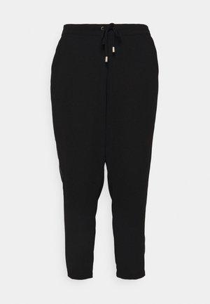 SIDE STRIPE  - Kalhoty - black/grey