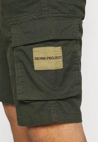 Denim Project - Shorts - dark olive - 4