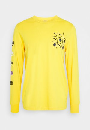 CLUB LONGSLEEVE TEE UNISEX - Long sleeved top - spectra yellow