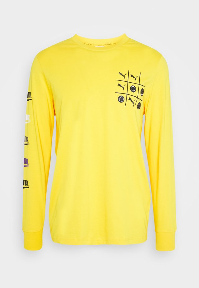 CLUB LONGSLEEVE TEE UNISEX - Long sleeved top - spectra yellow