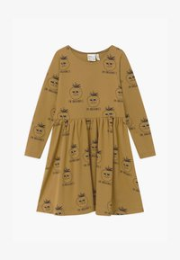 Mainio - Jersey dress - dull gold - 0