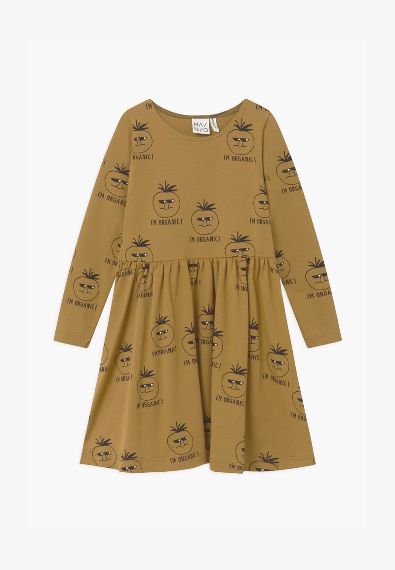 Mainio - Jersey dress - dull gold