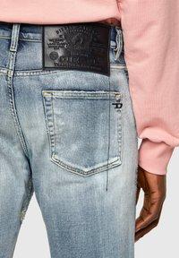 Diesel - D-STRUKT 009UI - Slim fit jeans - light blue - 4