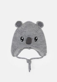 Name it - NBNWRUNI HAT  - Čepice - grey melange - 0