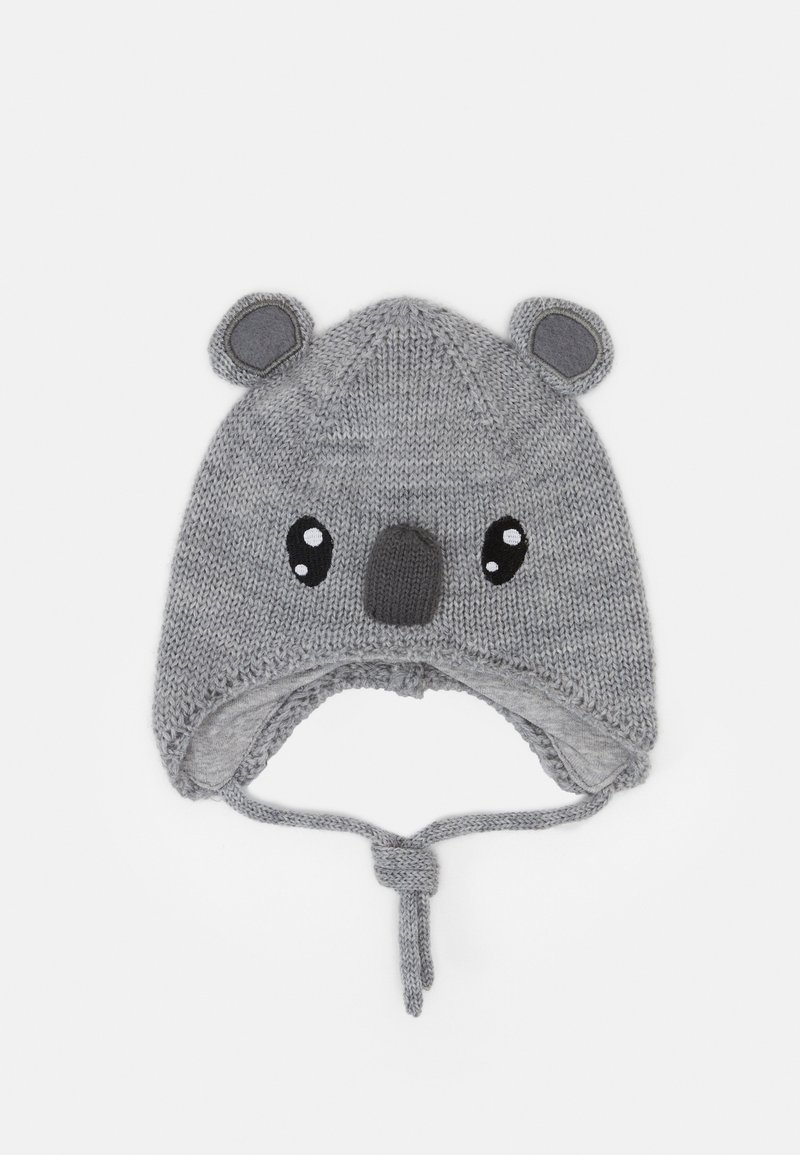 Name it - NBNWRUNI HAT  - Čepice - grey melange