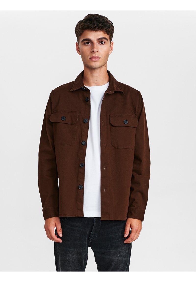 Gabba - TOPPER - Shirt - bronze brown