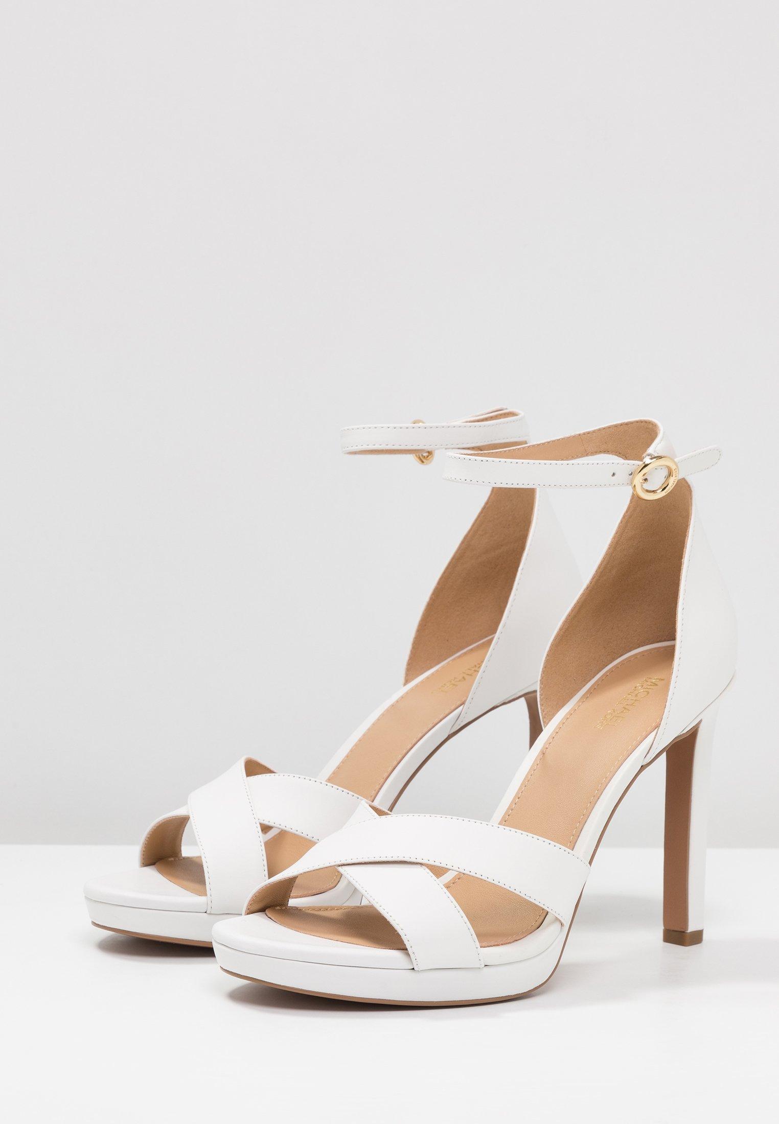 MICHAEL Michael Kors ALEXIA  - Sandaler med høye hæler - optic white