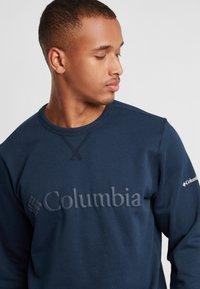 Columbia - Logo Crew - Bluza - collegiate navy puff logo - 3