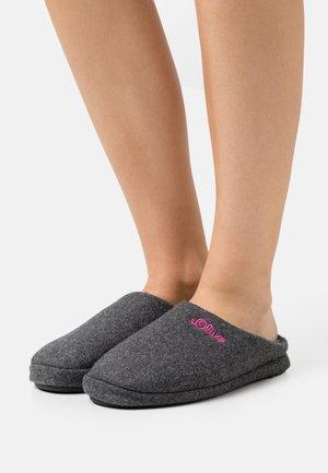 SLIDES - Pantoffels - anthracite
