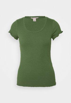 Camiseta básica - olive