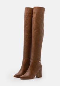 Lulipa London - JOSEPHINE - Over-the-knee boots - tan - 2