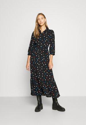 SPOT DRESS - Maxi dress - black