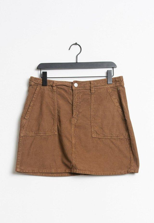 A-lijn rok - brown
