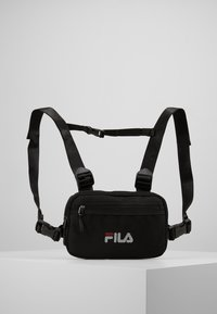 Fila - CHEST BAG - Reppu - black - 0
