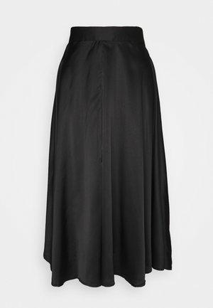 VMCHRISTAS CALF SKIRT  - Áčková sukně - black