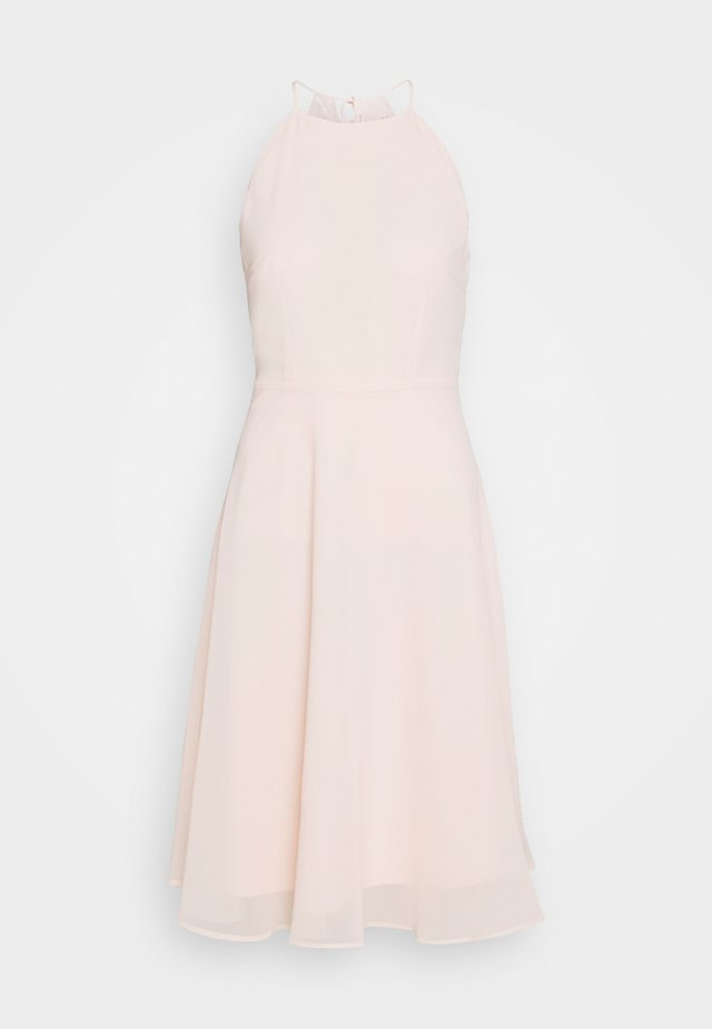Robe de soirée - pastel pink