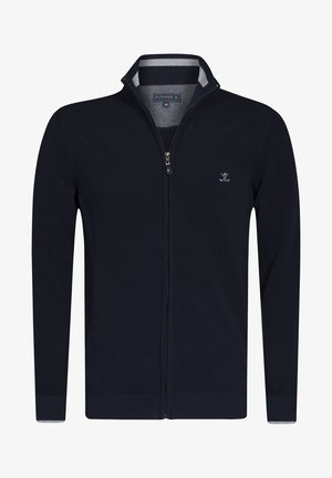Cardigan - navy-grey