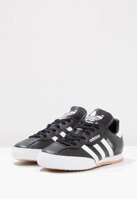 adidas Originals - SAMBA SUPER - Trainers - black/running white/footwear white - 2