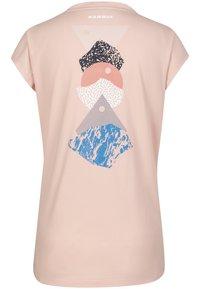 Mammut - MASSONE - Print T-shirt - evening sand - 3