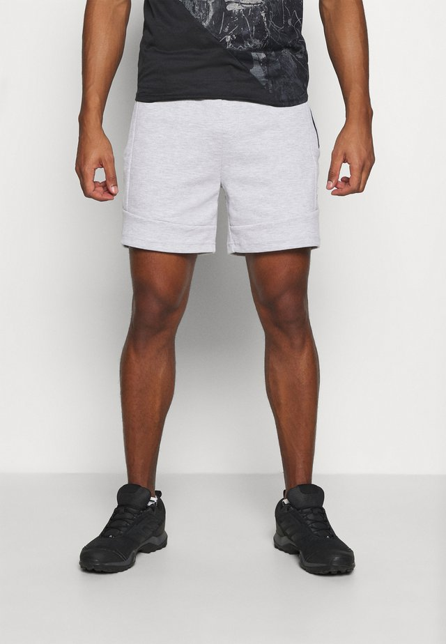 JJIAIR - Pantaloncini sportivi - light grey melange