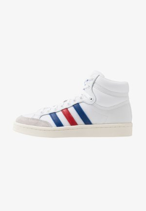 AMERICANA - Korkeavartiset tennarit - footwear white/collegiate royal/scarlet