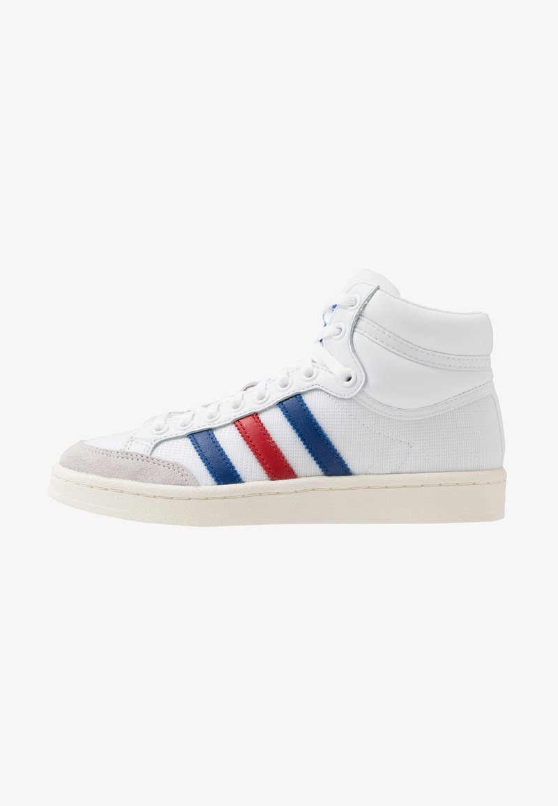 adidas Originals - AMERICANA - Zapatillas altas - footwear white/collegiate royal/scarlet