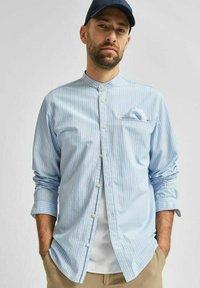 Selected Homme - SLHSLIMTEXAS - Overhemd - cerulean - 3