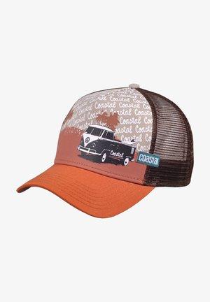 Cap - dark brown/orange