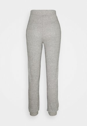 VMTIA PANT PETITE - Tracksuit bottoms - light grey melange