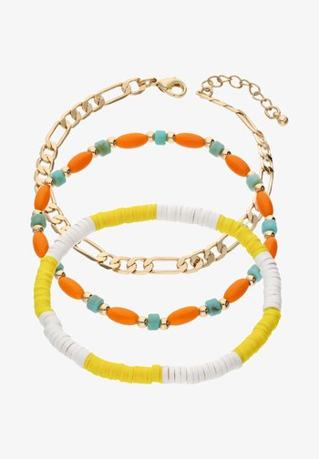 3-PACK - Bracelet - gold