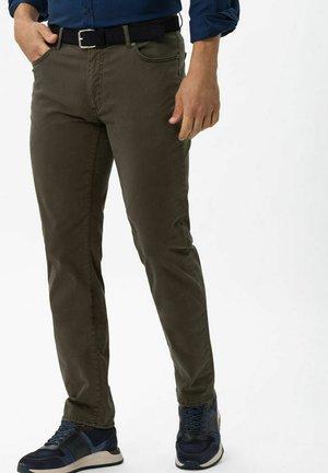 STYLE CADIZ - Straight leg jeans - khaki