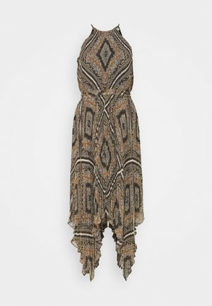 PLEATED HALTER  - Day dress - bone