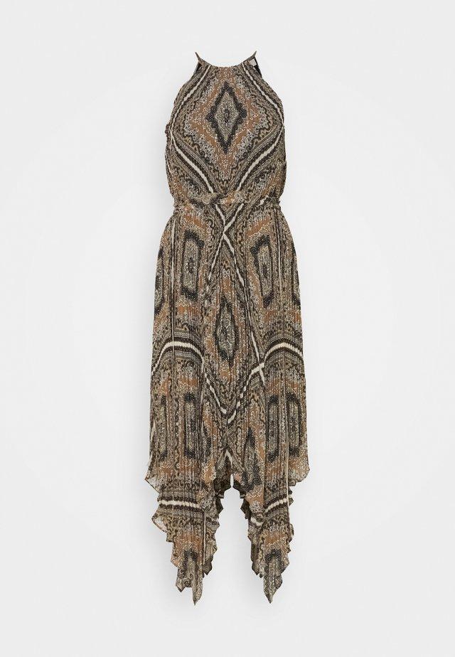 PLEATED HALTER  - Robe d'été - bone