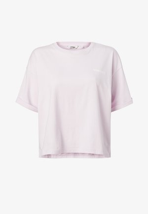 SUMMER TEE - T-shirts print - lilac ice