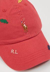 Polo Ralph Lauren - CLASSIC SPORT CAP SMALL - Kšiltovka - red - 2