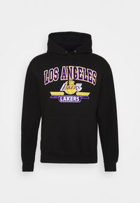 Mitchell & Ness - NBA LA LAKERS ARCH LOGO HOODY - Squadra - black - 4