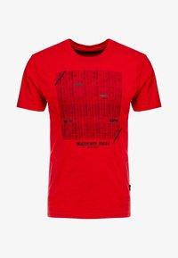 Tiffosi - GIBSON - Print T-shirt - red - 5